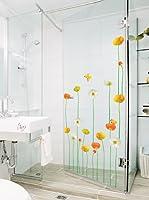 Ambiance Live Vinilo Decorativo Fine and elegant flowers garden Multicolor
