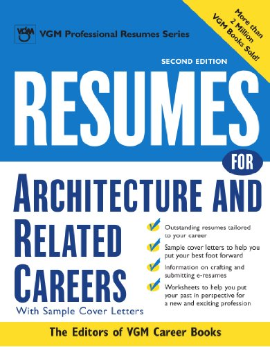 Resumes For Architecture And Related Careers (Mcgraw-Hill Professional Resumes)