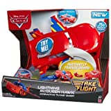 Disney Cars W7215 Lightning McQueen Hawk Interactive Flying Buddy Playset by Cars