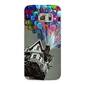 Ajay Enterprises Desinger balloon House Back Case Cover for Samsung Galaxy S6 Edge Plus