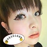 Urparcel 10 Pairs Lower Lashes Under Eye Lashes Bottom Eyelashes Makeup Handmade