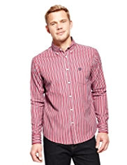 Blue Harbour Supersoft Pure Cotton Striped Shirt