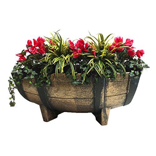 rectangular-vintage-like-half-barrel-planter-with-drain-holes-16-inch