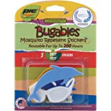 Pic Bugables Mosquito Repellent Stickers (5 pack)