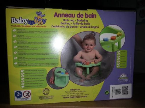 baby bath tub ring seat new in box by babymoov. Black Bedroom Furniture Sets. Home Design Ideas