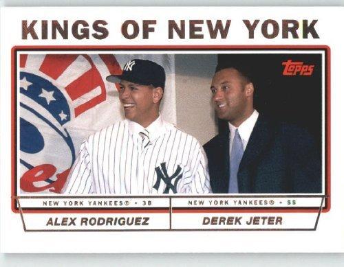 2004 Topps Baseball Card # 693 Alex Rodriguez - Derek Jeter (Prospects) New York Yankees - Mlb Trading Card
