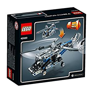 1 X LEGO Technic 42020: Twin-Rotor Helicopter