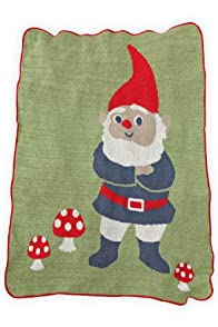Green 3 Apparel Recycled USA-made Gnome Throw