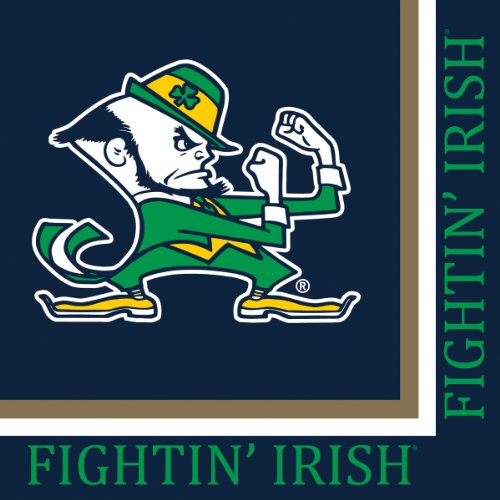 Creative Converting Notre Dame Fighting Irish Luncheon Napkins (20 Count)