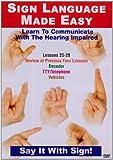 echange, troc Sign Language Series 25-28 [Import anglais]