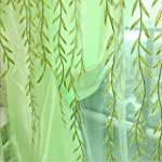 1m * 2m Curtains Rural Style Willow L...