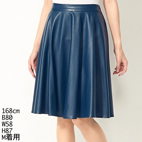 セシルマクビー(CECIL McBEE) スカート(合皮スカート)【ブルー/M】