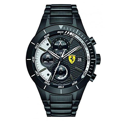 Scuderia Ferrari Orologi Orologio da uomo Red Rev Evo, al quarzo, analogico, in acciaio inox 0830267