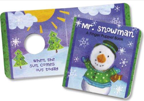 Mr. Snowman Finger Puppet Book