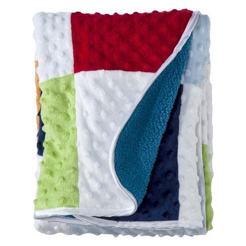 Circo Knit Baby Blanket - Square 'n Dippity - 1