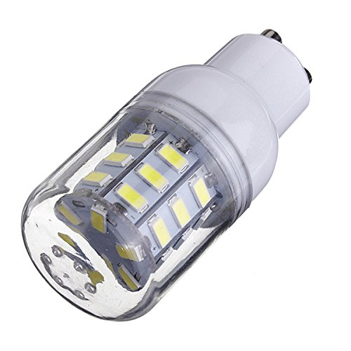 Kingso 3.5W Corn Led Gu10 Lights 220V 5730 30 Smd Frosted Cover Bulb Pure White
