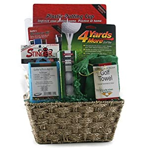 Parific! Golf Gift Basket by Design It Yourself Gifts & Basket