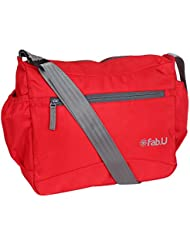 Fab.U Red Messenger Sling Bag