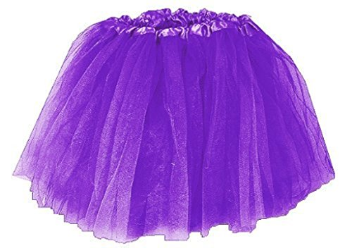 Purple ballet dance tutu dress up costume fairy