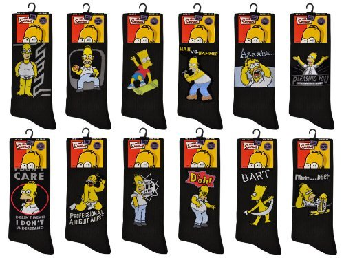 pack-of-12-mens-official-the-simpsons-socks-in-black-various-assorted-designs