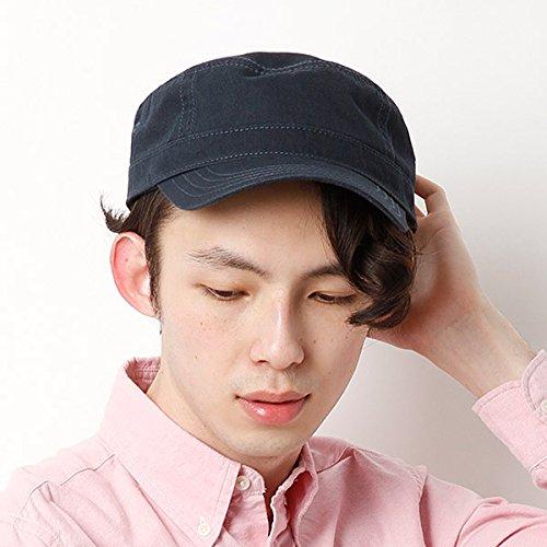 カスターノ(CASTANO) 帽子(ダックドゴールキャップ)【ネイビ-/**】