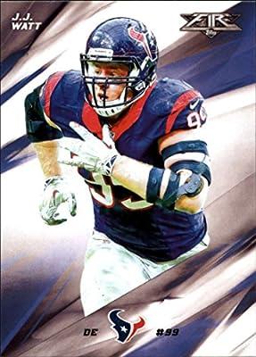 Football NFL 2015 Topps Fire #23 J.J. Watt NM-MT Texans