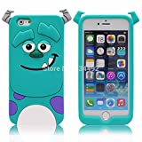 Go Crazzy Cartoon Monsters Back Case For Iphone 6 Plus (Multi)