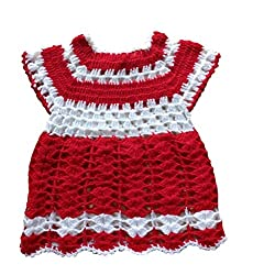 The Creators Baby Girls Sweater (6-12 Months, Red)