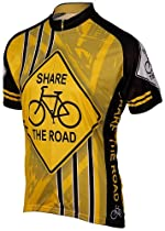 Share the Road Mens Cycling Jersey XXL