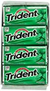 Trident Gum, Spearmint, 18-Piece Pack…