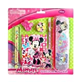 Disney Minnie Mouse 6 Piece School Supplies Pencil Set