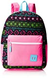 Trailmaker Big Girls Printed Backpack with Pencil Pouch, Pink, One Size