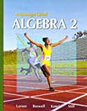 img - for McDougal Littell Algebra 2 (Holt McDougal Larson Algebra 2) book / textbook / text book