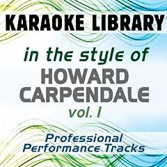 ...dann geh doch (Karaoke Version) [In the Style of Howard Carpendale]