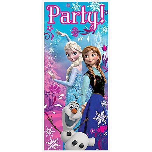 Disney Frozen Door Poster, 2.25 ft X 5 ft (Frozen Birthday Party Games compare prices)