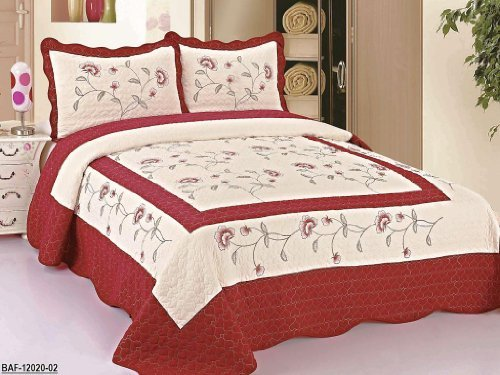 Queen Size Bedspread Dimensions 5817 front