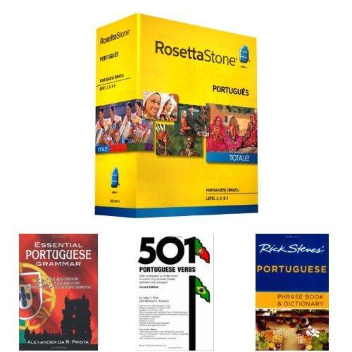 Rosetta Stone Portuguese Language Learning Bundle
