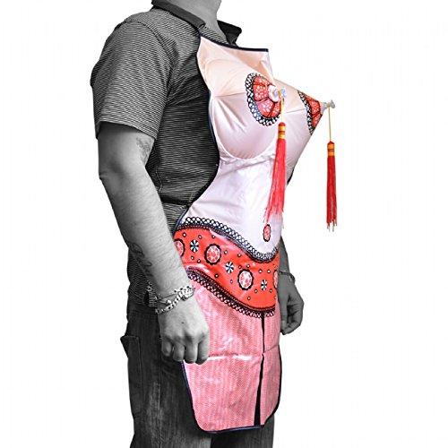 The Diabolical Gift People - Grembiule regalo Apron Exotic Dancer con seno gonfiabile
