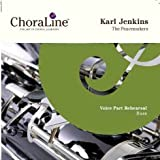 ChoraLine Voice Part Rehearsal Recordings BASS Voice Part for Karl Jenkins The Peacemakers Rehearsal CD