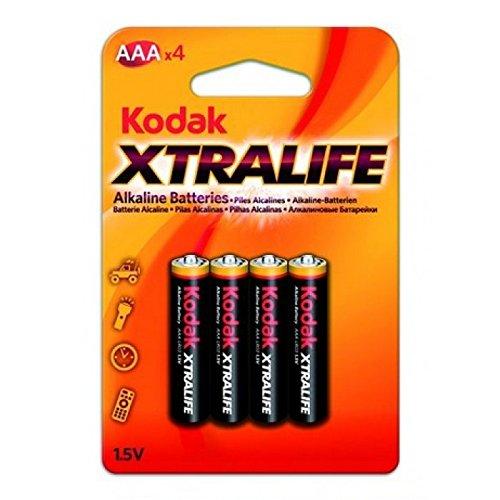 40 Batterie Kodak Alcaline xtralife pile ministilo AAA