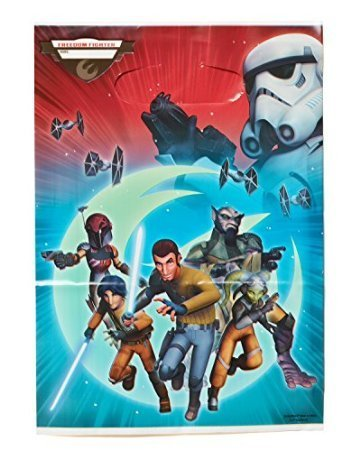 American Greetings Star Wars Rebels Treat Bags (8 Count), Party Supplies