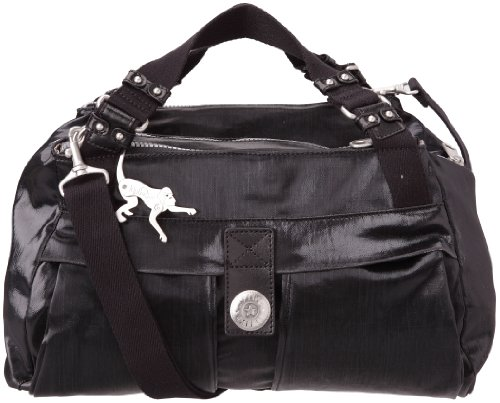 Kipling Women's New Pamela Handbag Black Coated K24608904 Medium