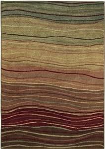 """Shaw Origins Multi Color Terra 16440 Rug, 7'8"""" by 10'10"""""""