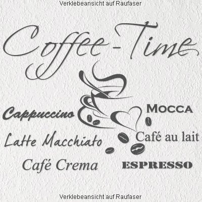 WandtattooCoffee Time