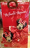 Disney Parks Minnie Mouse Polka Dot Bow Hair Clips Set of 2 - Disney Parks Exclusive & Limited Availability