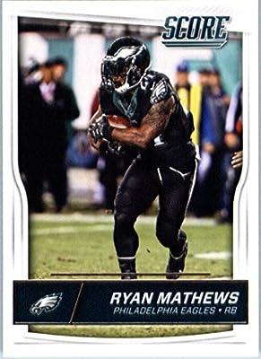 2016 Score #240 Ryan Mathews Philadelphia Eagles Football Card