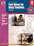 Fast Ideas for Busy Teachers: Math, Grade 4 (0768229146) by Armstrong, Linda