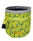OllyDog Treat Bag Plus, Medium, Limeade Loops