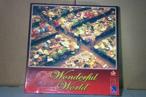 Wonderful World 500 Piece Kota Bharu Market, Malaysia Jigsaw Puzzle