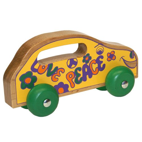 Holgate HHZ110 Handeez Wooden Love Bug Toy - 1